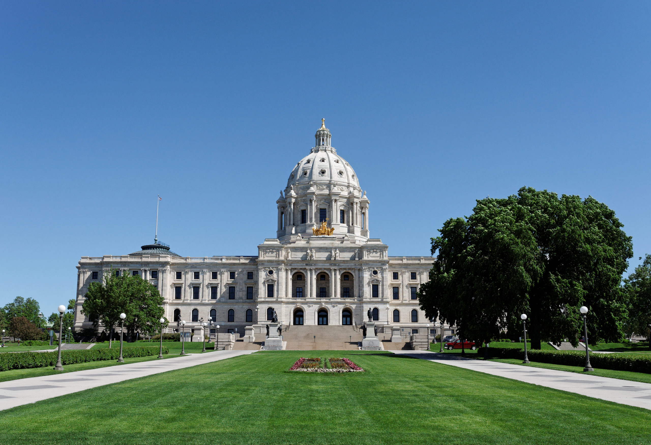 Minnesota State Capitol building and grounds