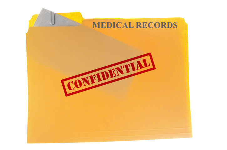 Medical record with