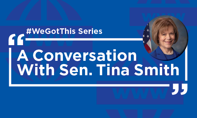 A Conversation with Sen. Tina Smith