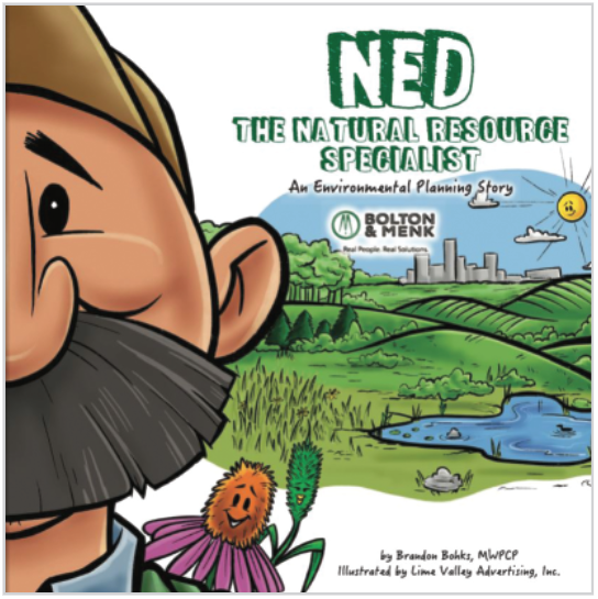 Ned the natural resource specialist book cover