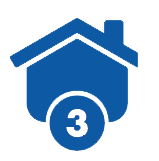 House image with the number 3.