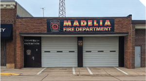 the Madelia Fire Department building.