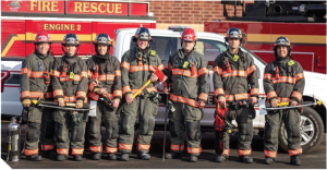 A group of Eagan firefighters.
