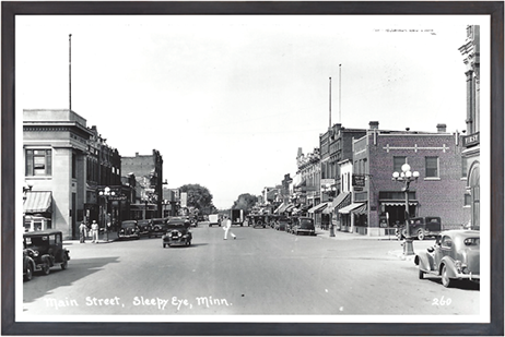 Main street, Sleepy Eye, Minnesota