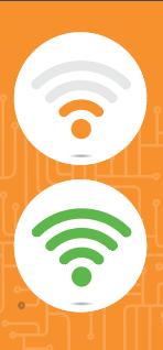 Wifi icons.